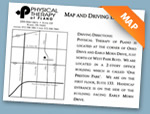 Map and Directions to Physical Therapy of Plano